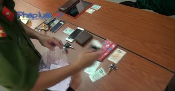 TP HCM: Bắt 2 đối tượng ăn cắp tài sản của diễn viễn