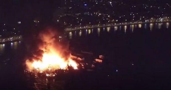 Cháy rụi 80 ngôi nhà ở Nha Trang