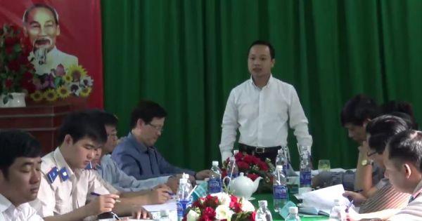 Thứ trưởng Bộ Tư pháp Trần Tiến Dũng làm việc với Cục THADS Sóc Trăng