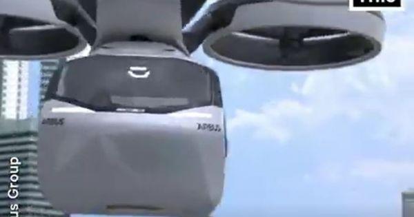 Air Bus - sự tích hợp kỳ diệu vừa ô tô vừa trực thăng hiện đại