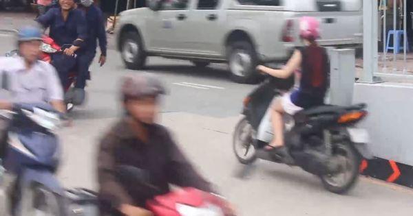 Nguy cơ tai nạn giao thông qua hầm chui cầu Điện Biên Phủ