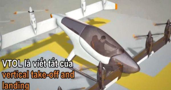 Công nghệ cho ra đời 'ôtô bay' cất hạ cánh thẳng đứng