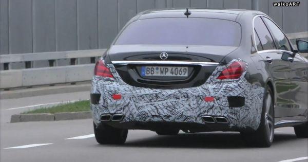 Mercedes S-class 2018 lộ ảnh thiết kế mới