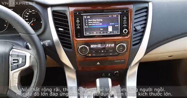 Mitsubishi Pajero Sport - hướng đến công nghệ để cạnh tranh