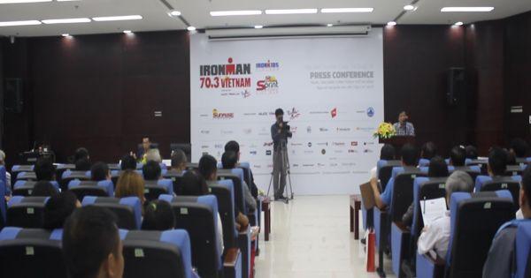 Họp báo thông tin về cuộc thi Ironman 70.3 Việt Nam năm 2017