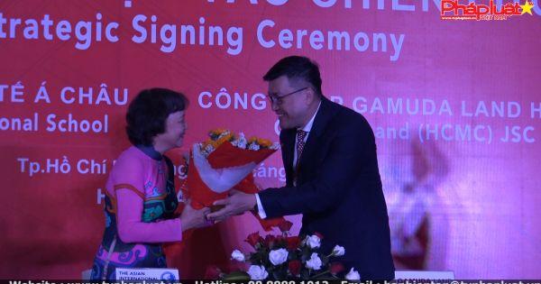 Ký kết hợp tác giữa Công ty cổ phần Gamuda Land và Trường Quốc tế Á Châu