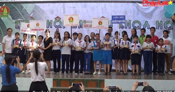 500 học sinh tham gia Ngày hội em yêu khoa học