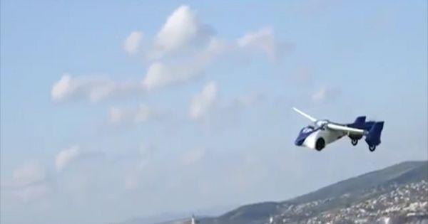 Ô tô bay đầu tiên trên thế giới ra mắt tại Top Marques Monaco