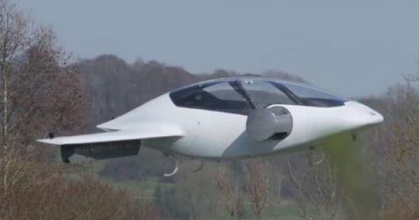 """Sẽ có """"Taxi bay"""" mới chạy hoàn toàn bằng điện"""