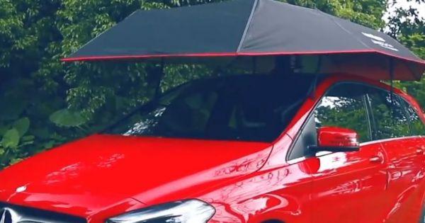 Tranh cãi quanh chiếc lều chống nóng 400 đôla cho ôtô