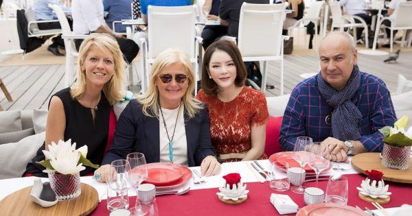 Lý Nhã Kỳ mở tiệc dành cho khách VIP tại Cannes 2017