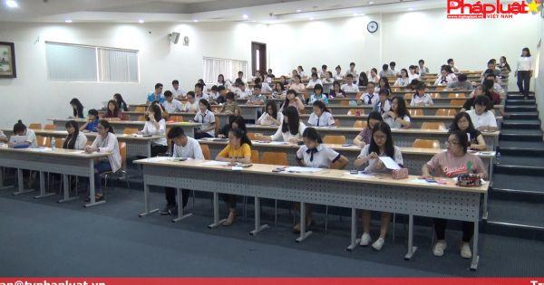 Trường ĐHQT khởi động kì thi kiểm tra năng lực năm 2017