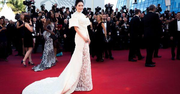 Lý Nhã Kỳ hái quả ngọt ở Cannes 2017