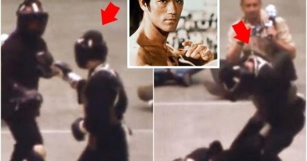 Công bố clip đấu MMA thực chiến duy nhất của Lý Tiểu Long