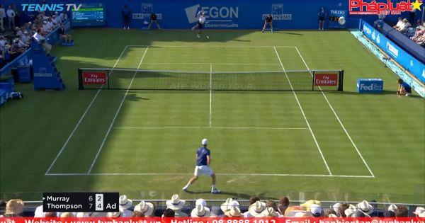 """Andy Murray """"bất bại"""" ngay vòng 1 Queen's Club"""