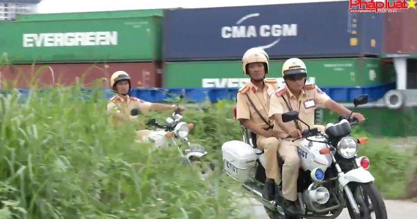 Gương sáng chiến sĩ cảnh sát giao thông: Thiếu Tá Nguyễn Giang Sơn - Đội cảnh sát giao thông Cát Lái -Công an TPHCM