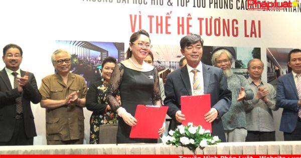 ĐH Quốc tế Hồng Bàng hợp tác với top 100 phong cách doanh nhân