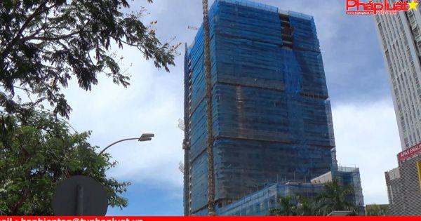 Tòa nhà 26 tầng cấp giấy phép một đằng, xây dựng một nẻo