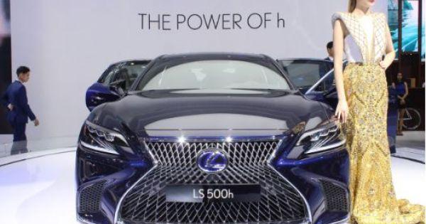 Lexus mang dàn xe sang, tiết kiệm nhiên liệu ra mắt đại gia Việt