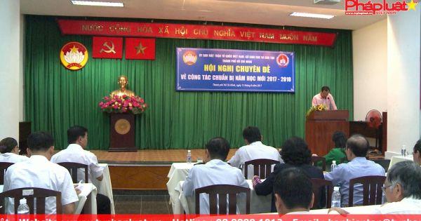 Hội nghị chuyên đề về công tác chuẩn bị năm học mới