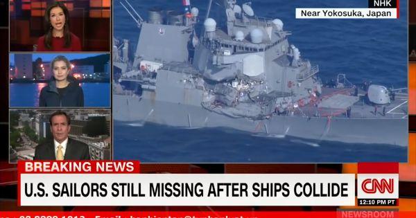 Tư lệnh Hạm đội 7 Hải quân Hoa Kỳ sẽ bị bãi chức