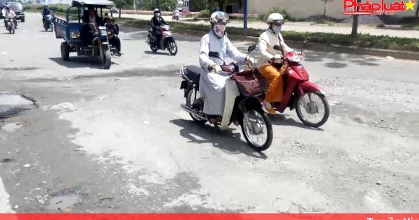 Bình Tân (TP HCM): Đoạn đường khốn khổ gánh hàng nghìn phương tiện qua lại mỗi ngày