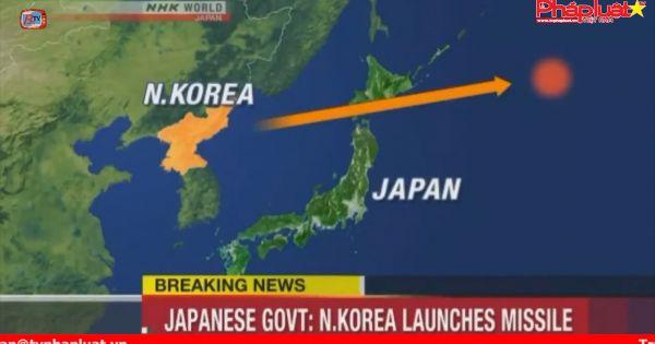 Triều Tiên phóng tên lửa về phía Nhật Bản