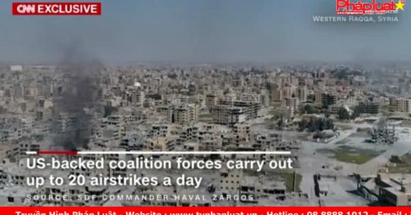 Liên quân tấn công đường bộ ngăn chặn IS di tản qua khu vực biên giới với Li-băng