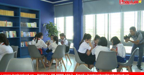 Khánh thành thư viện thông minh tại Trường THCS Nguyễn Chí Thanh