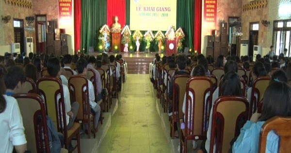 Đại học Quy Nhơn khai giảng năm học mới 2017 - 2018