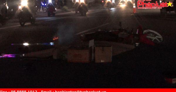 Ngã xuống đường, người đàn ông bị xe tải tông tử vong