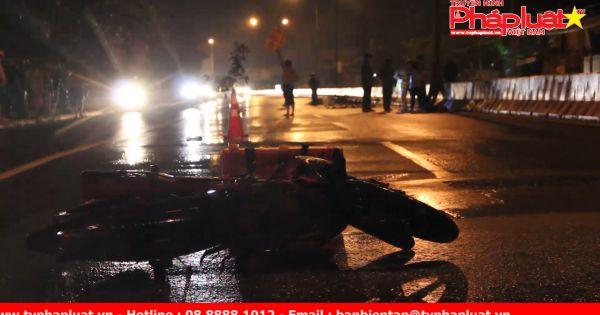 Xe máy tông dải phân cách, một người tử vong tại chỗ