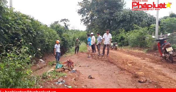 Krông Năng - Đăk Lăk: Đường liên thôn biến thành suối dữ sau mưa