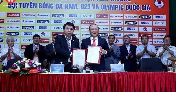 HLV Park Hang-seo: Đặt mục tiêu đưa ĐTVN vào top 100 thế giới