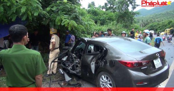 Bình Định: Tai nạn giao thông nghiêm trọng, một người chết tại chỗ