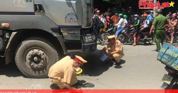Xe tải tông chết người đi xe đạp