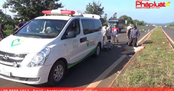 Đắk Lắk: Nghi án người đàn ông lái xe máy ngã tử vong