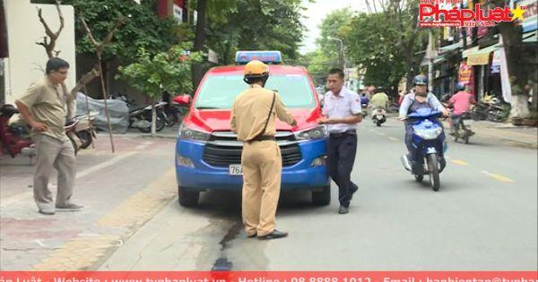 Bức xúc xe ô tô đi vào đường cấm trong nội đô TP.Quảng Ngãi