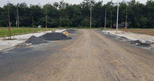 Khách hàng tại dự án Diamond City Đồng Nai sắp được bàn giao đất