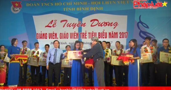 Bình Định: Tuyên dương 35 giảng viên, giáo viên trẻ tiêu biểu năm 2017