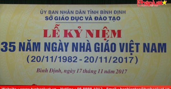 Bình Định: Kỷ niệm 35 năm Ngày Nhà giáo Việt Nam