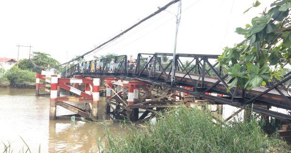 TP HCM: Nhiều cây cầu sắt xuống cấp ở huyện Nhà Bè