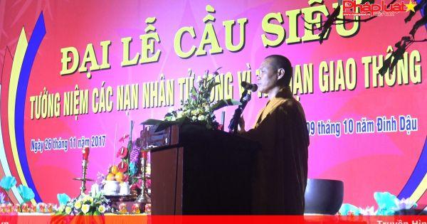 TP HCM: Đại lễ cầu siêu cho các nạn nhân tử vong vì tai toàn giao thông