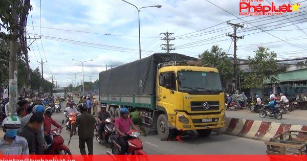 Bình Dương: Chở em đi học về, hai anh em bị xe tải cán tử vong