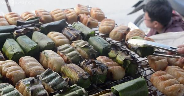 Chinh phục thực khách bằng đặc sản chuối nếp nướng ở Sài Gòn