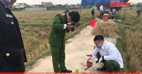 Nam Định: Bắt đối tượng giết người, phi tang xác dưới cống