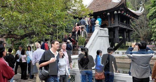Du khách nước ngoài đến Việt Nam đông lên đến con số kỷ lục