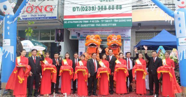 Khai trương chi nhánh Quảng Nam, Phú Yên: Vinasun Taxi đẩy mạnh liên thông dịch vụ