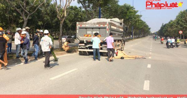 2 thanh niên tử vong sau va chạm với xe ben