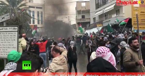 Điểm nổ Jerusalem: Biểu tình dữ dội chống Mỹ ở Indonesia, Lebanon